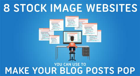 8 stock image websites you can use to make your posts