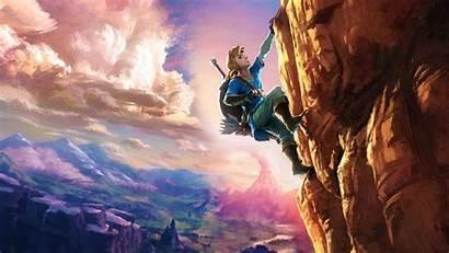 Zelda Breath Legend Wild Wallpapers Chromebook 1080