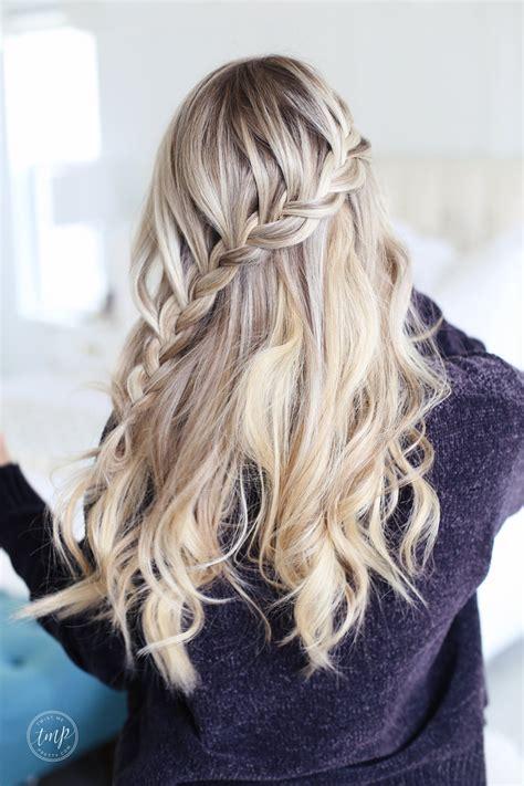 lace braid tutorial   holidays twist  pretty