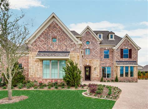 Grand Homes  Chadwick  Home Builders In Fort Worth Tx