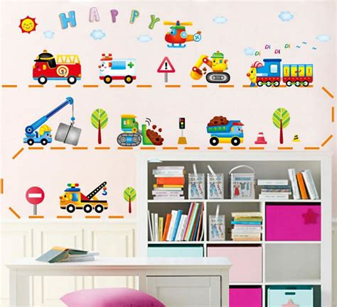 stickers garcon chambre cars child room wall stickers for room boy