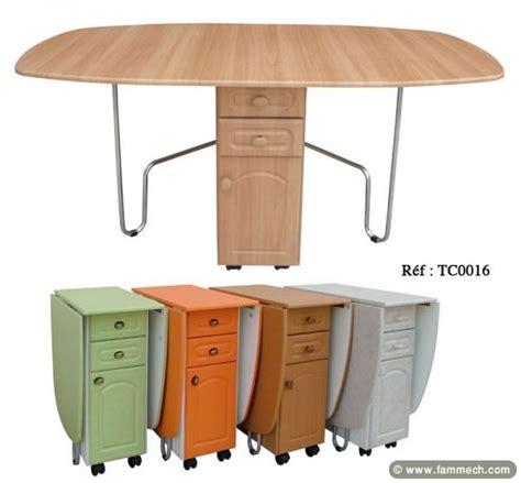 table et chaise gain de place table de cuisine gain de place uteyo
