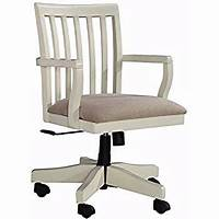 white wood desk chair Amazon.com: Office Star Deluxe Armless Wood Bankers Desk ...