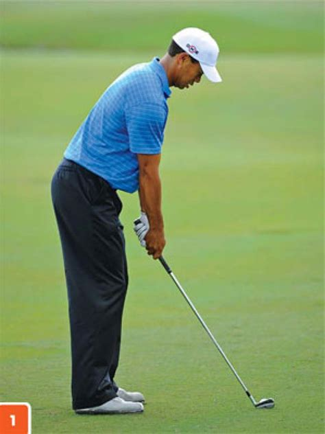 Tiger Woods: Chin up for good posture | Instruction | Golf ...