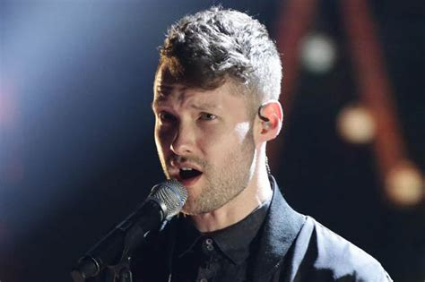 Britain's Got Talent Bonds Calum Scott And Dad
