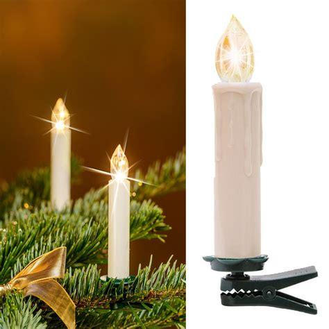 20er led weihnachtskerzen lichterkette kabellos