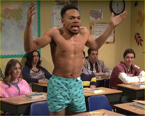 chance the rapper bikini chance the rapper strips shirtless wears only his