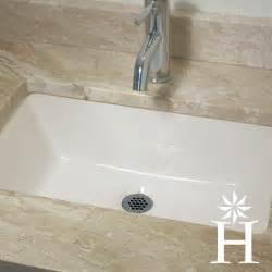 highpoint collection 19 x 11 inch undermount bisque vanity sink contemporary bathroom sinks