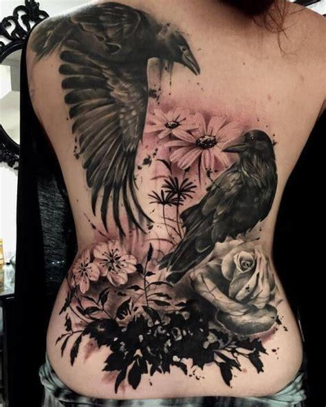 bird tattoos  women  girls fashion raven