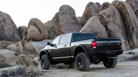 adventure ready pickup truck aev ram prospector xl