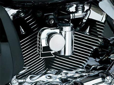 Klaxon Chromé A L'aire Harley-davidson 92 Et Plus Kuryakyn