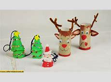 Recycling Basteln – Weihnachten, Nikolaus,Xmas 4