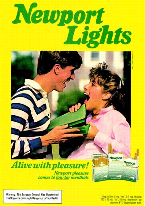 "Lorillard's ""Candy Box"" ad for Newport cigarettes: is she"