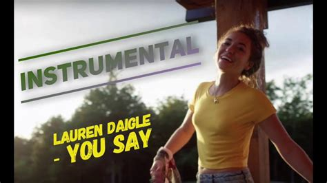 You Say (instrumental)