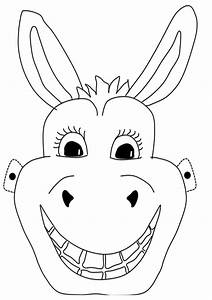 donkey mask craft 39n39 home With donkey face mask template