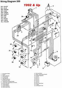 1998 Mercury Outboard Wire Schematics  1998  Free
