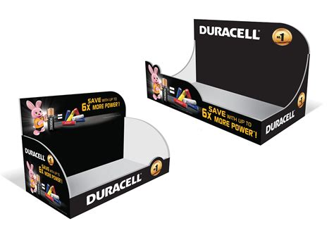 Duracell POSMs on Behance