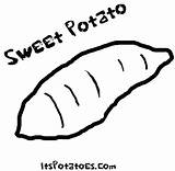 Potato Coloring Sweet Yam Drawing Sheets Vegetable Potatoes Colouring Printable Vegetables Frog Getdrawings Patterns Google Advertisement Again Bar Looking Case sketch template