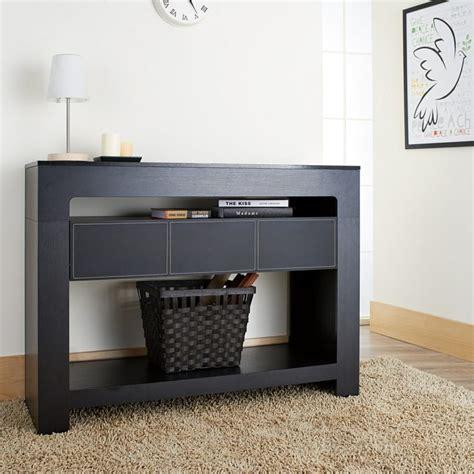 petit bureau verre console moderne 50 idées de meubles et conseils déco