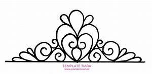 tiara template - Pesquisa Google | Template de tiaras e ...