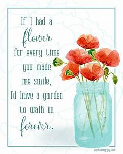 Flower in my Ga... Daughter Flower Quotes