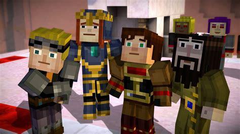 minecraft story modes seventh episode rolls   week polygon