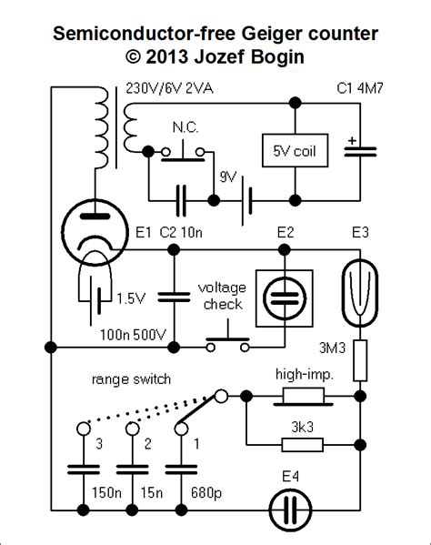 Semiconductor Free Geiger Counter Bogin