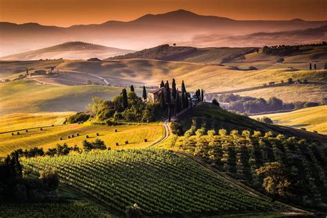 tuscan landscapes tuscany wallpapers wallpaper cave