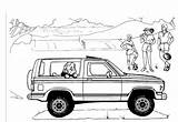 Bronco Ford Coloring Pages Truck Explorer Template Sheets Sketch Broncos Parts Templates Carscoloring sketch template