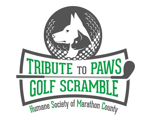 tribute  paws golf scramble