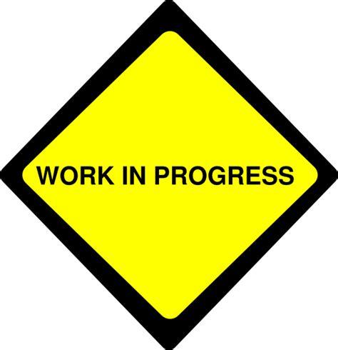 Clipart Work Work In Progress Clip At Clker Vector Clip
