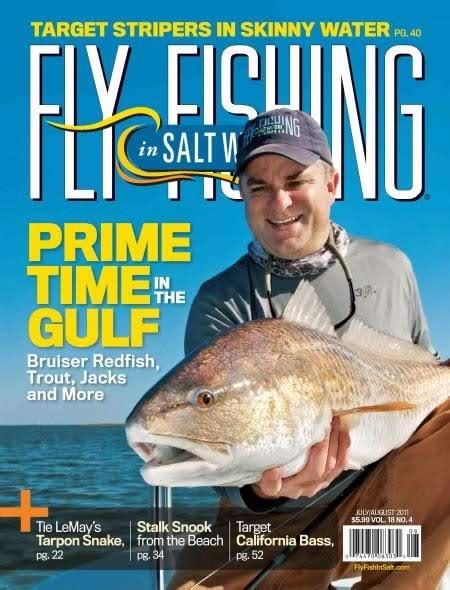 fishing magazine fly saltwater magazines saltwaters subscription