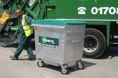 wheelie bin waste collection services  essex wwwahern