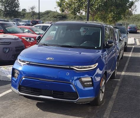 Kia Soul Colors by All New 2020 Kia Soul Electric Spotted In New Colors
