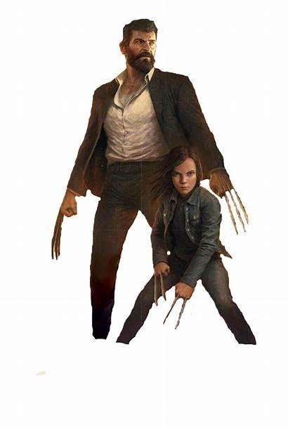 Wolverine Jackman Hugh Logan Keen Dafne Transparent