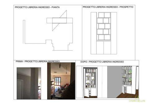 Progettare Una Libreria by Una Nicchia Nell Ingresso