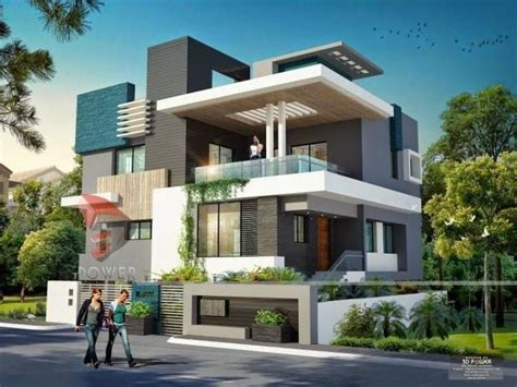 simple exterior design of house in india ultra modern