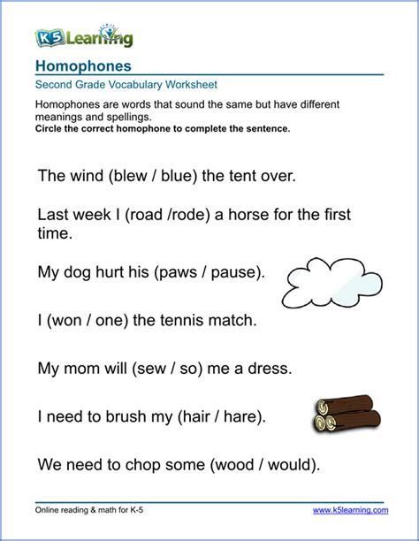 printable vocabulary worksheets   grades word