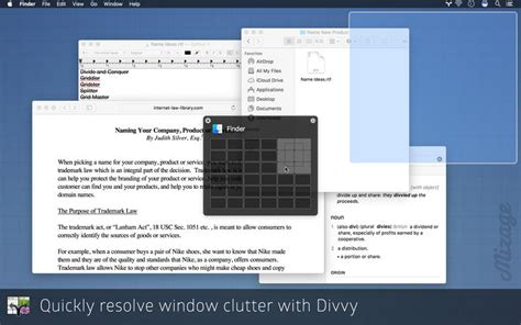 Tiling Window Manager For Mac by Divvy Window Manager On The Mac App Store