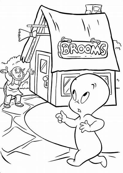 Casper Coloring Pages Printable