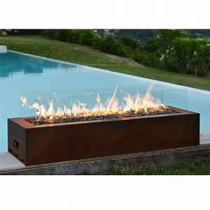 Feuerstelle Garten Gas : planika gas line outdoor galio corten gaskamin f r den au enbereich garten ~ Sanjose-hotels-ca.com Haus und Dekorationen