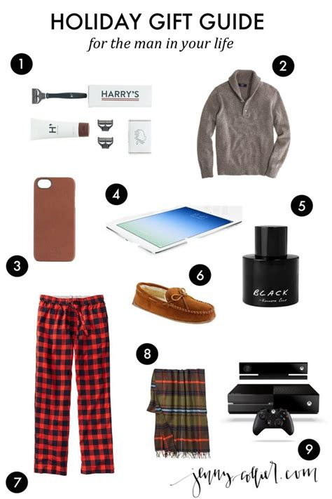 Holiday Gift Ideas For Men » Jenny Collier Blog