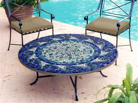 Mosaic Tile Outdoor Table by Mosaic Coffee Table Design Images Photos Pictures