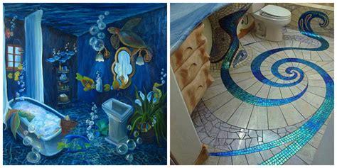 ocean themed bathroom trendy mandatory elements  ocean