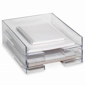 clear stackable letter tray desks acrylics and letter tray With clear stackable letter trays