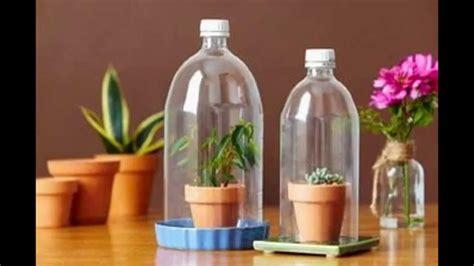 kerajinan tangan  barang bekas botol plastik bekas