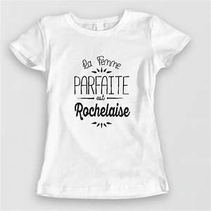 T Shirt Avec Message : tee shirt f tes des m res la femme parfaite est personnalisable ~ Nature-et-papiers.com Idées de Décoration