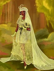wedding dress tiana by zhevickmeister on deviantart With princess tiana wedding dress
