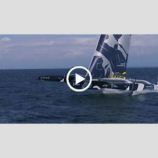 Video Flying On The World's Largest Foiling Trimaran  Boat International