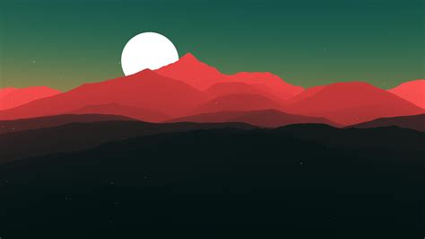 Minimalist Landscape [4k]  Top Reddit Wallpapers